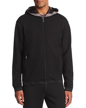 Emporio Armani - Hooded Zip-Up Jacket