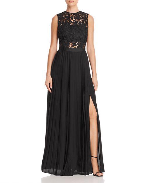 AQUA - Lace Bodice Gown - 100% Exclusive