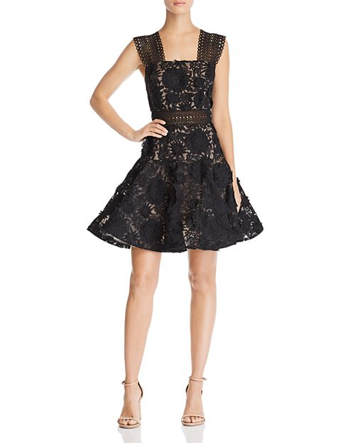 BRONX AND BANCO - Mishka Floral Lace Dress