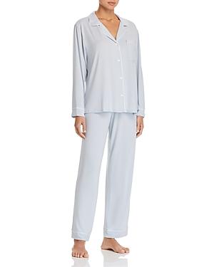 Eberjey Charcoal Heather Gisele Long Pajama Set