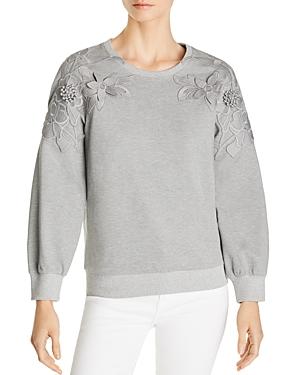 Le Gali Somer Embroidered Applique Sweatshirt - 100% Exclusive