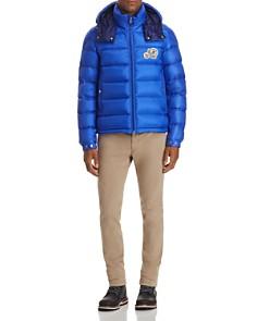 Moncler - Bramant Short Down Jacket, Ringer Tee & Chino Pants
