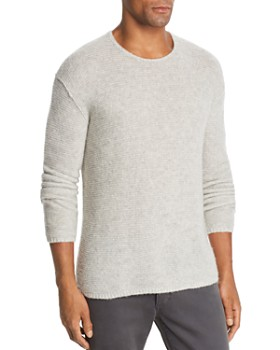 John Varvatos Collection - Tuck Cashmere & Silk Garter-Stitch Sweater