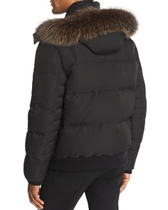 Andrew Marc - Bennett Fox Fur-Trimmed Puffer Jacket