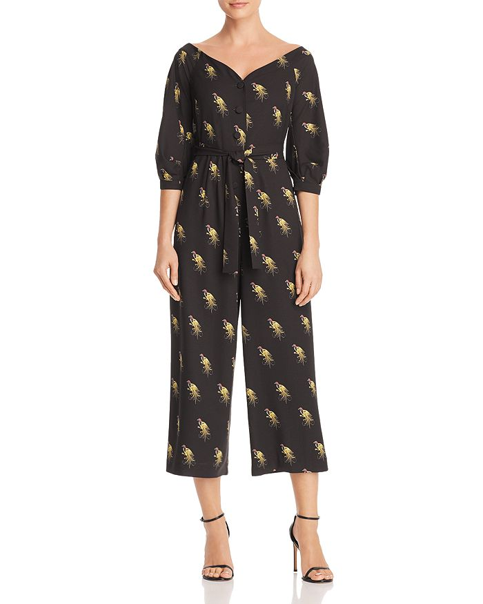 Whistles - Off-the-Shoulder Woodpecker Jumpsuit - 100% Exclusive