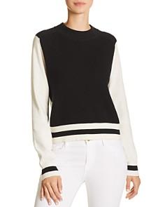 rag & bone/JEAN - Dean Color-Block Merino Wool Sweater
