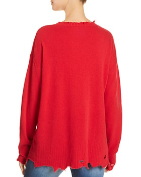 Current/Elliott - The Destroyed Drop-Shoulder Sweater