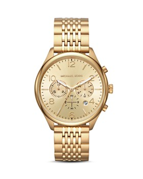 Michael Kors - Merrick Gold-Tone Chronograph, 42mm