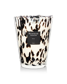 Baobab Collection - Black Pearls Candle, Max 24