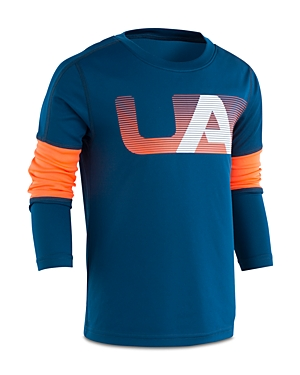 Under Armour Boys' Headliner Long-Sleeve Performance Shirt - Little Kid