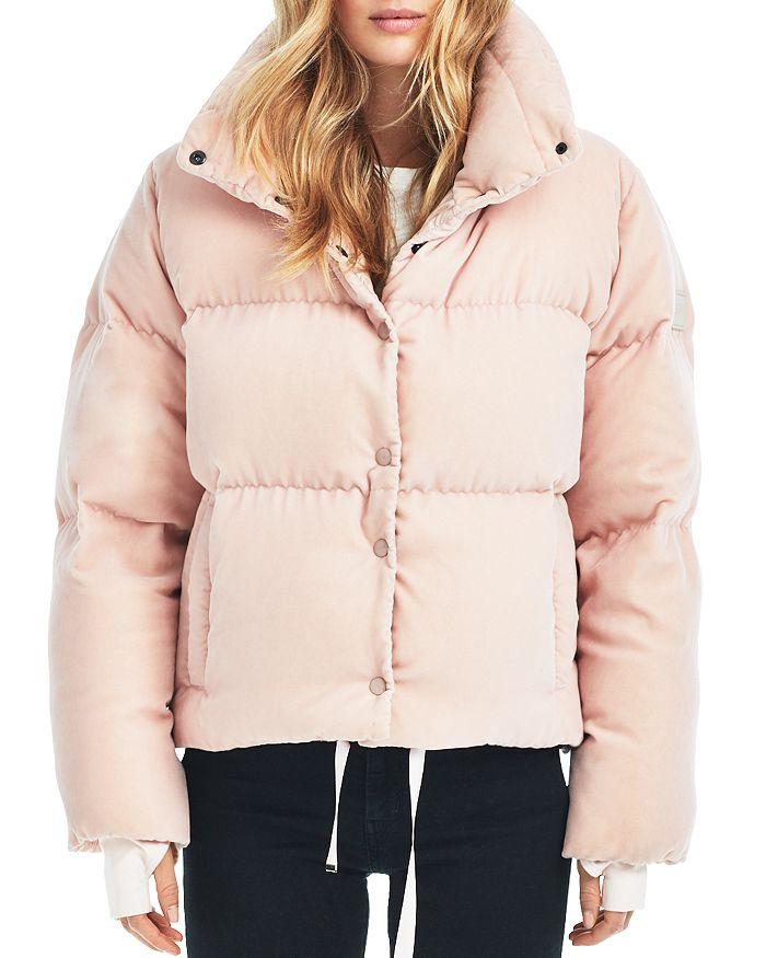 53c5645c11b52 SAM. Sophia Velvet Puffer Coat