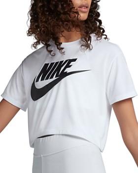 Nike - Essential Logo Cropped Tee