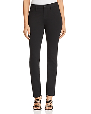 Nydj Sheri Slim Ponte Jeans in Black
