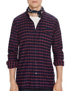 Scotch & Soda - Plaid Regular Fit Button-Down Shirt