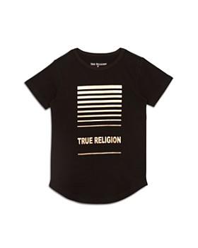 True Religion - Boys' Foil Graphic Tee - Little Kid, Big Kid