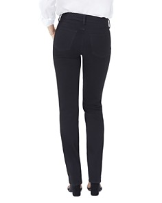 NYDJ - Marilyn Straight-Leg Jeans in Black