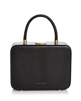 Tammy & Benjamin - Medium Leather Vanity Box Crossbody