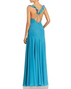 Fame and Partners - Cora Plunging Gown