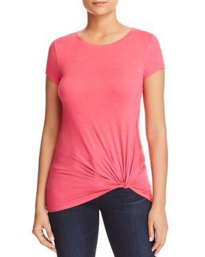MARC NEW YORK PERFORMANCE TWISTED FAUX-KNOT TEE