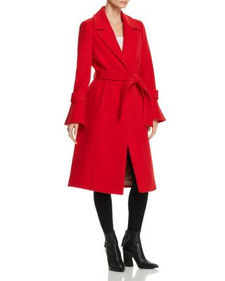 Hersilia Belted Trench Coat by Joie