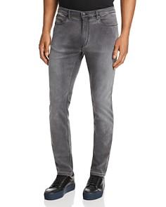 HUGO - Skinny Fit Jeans in Medium Gray
