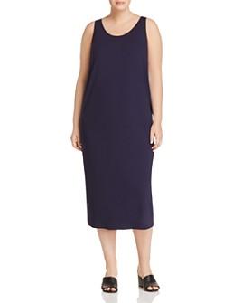 Eileen Fisher Plus - Scoop Neck Maxi Dress