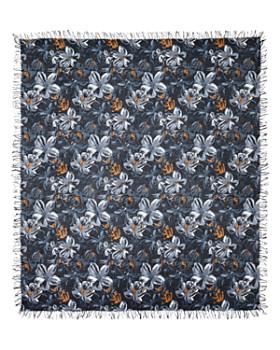 Chan Luu - Painterly Floral Print Scarf