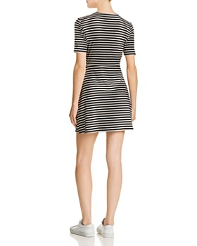 Sadie & Sage - Striped Knit Dress