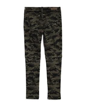 BLANKNYC - Girls' Camo Print Utility Skinny Jeans - Big Kid