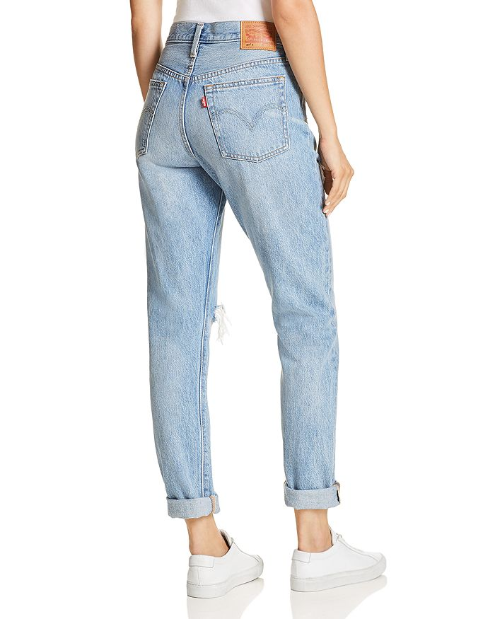 297a119dbc94 Levi's 501 Destruct Slim Jeans in Can't Touch This | Bloomingdale's