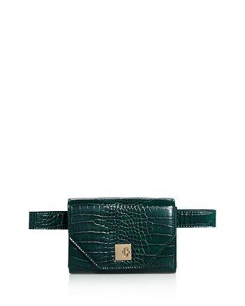 AQUA Medium Croc-Embossed Convertible Belt Bag - 100% Exclusive ... 77d98e08e4