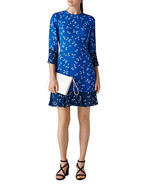 Whistles Polly Dot-Print Dress