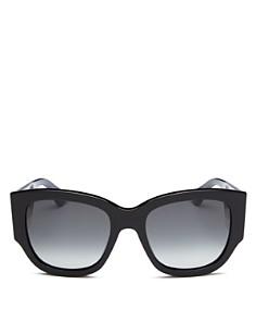 Gucci - Women's Sylvie Extreme Cat Eye Sunglasses, 53mm