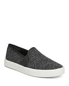 Vince - Women's Blair Tweed Slip-On Sneakers
