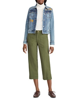 Ralph Lauren - Cropped Straight-Leg Pants