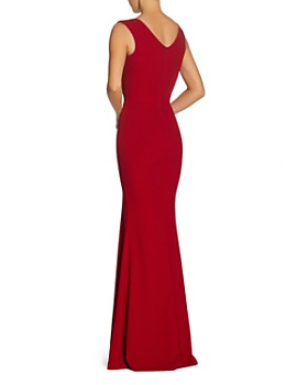 Dress the Population - Sandra Plunging Gown