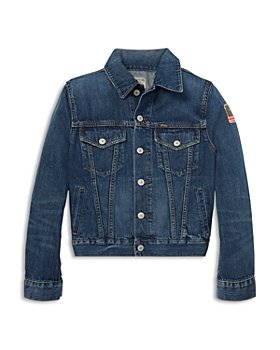 Ralph Lauren - Boys' Cotton Denim Jacket - Little Kid, Big Kid