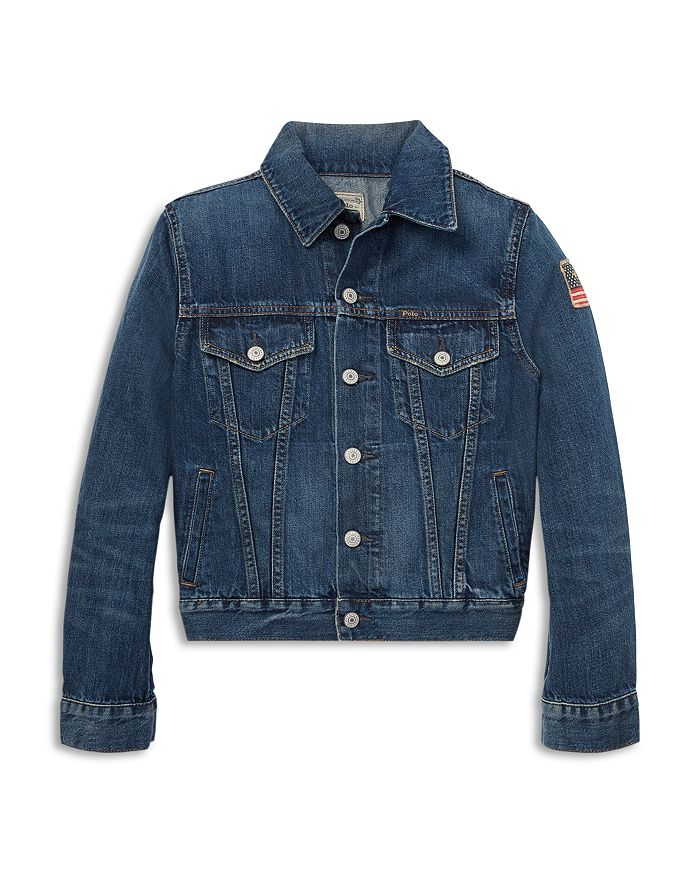 Ralph Lauren - Boys' Cotton Denim Trucker Jacket - Big Kid