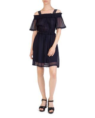 Cold Shoulder Dress by The Kooples
