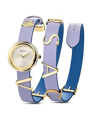 Versace Collection V-Flare Violet/Blue Watch, 28mm