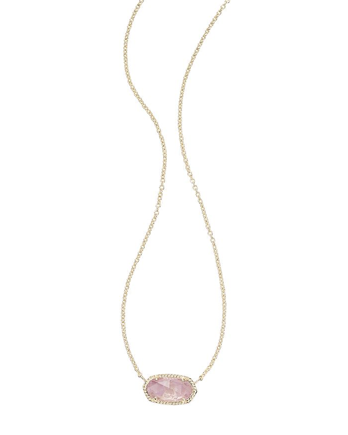 Kendra Scott Elisa Birthstone Pendant Necklace In February