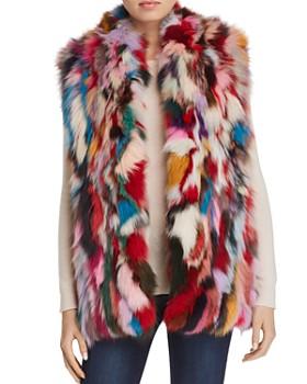 Adrienne Landau - Fox-Fur Vest