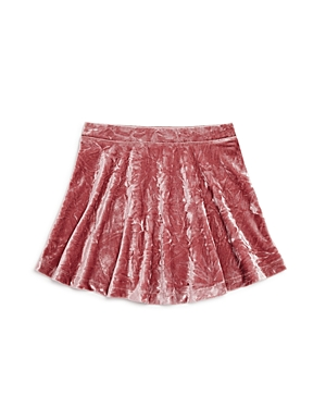 Design History Girls' Crushed Velvet Skirt - Little Kid