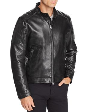 BOSS GETANI LEATHER JACKET