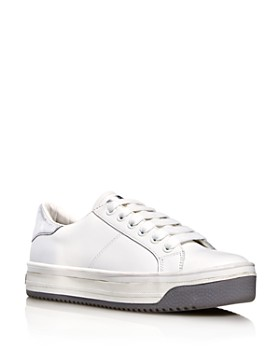 MARC JACOBS - Women's Empire Leather Sneakers