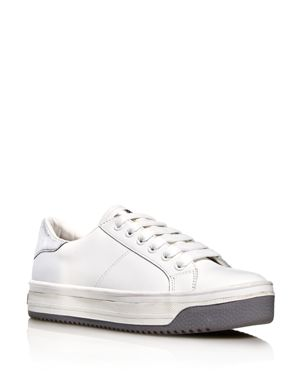 WOMEN'S EMPIRE LEATHER SNEAKERS