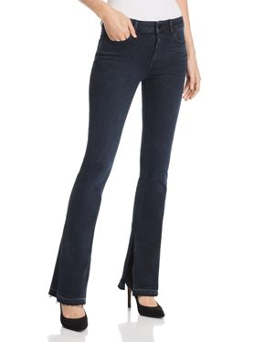 Bridget Instasculpt Mid-Rise Boot-Cut Jeans With Released Hem, Keating