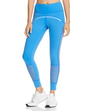 By Stella Mccartney Run Training Tights in Ray Blue