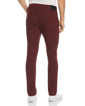 PAIGE - Federal Slim Fit Jeans in Rustic Wine