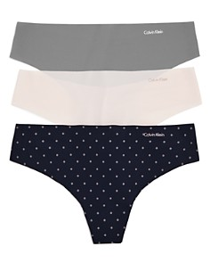 Calvin Klein Invisibles Thongs, Set of 3 - Bloomingdale's_0